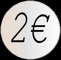 kaksi euroa