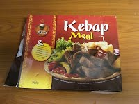 Sultan Ahmed Kebab meal