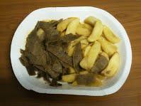 Sultan Ahmed Kebab meal - tarjoiltuna